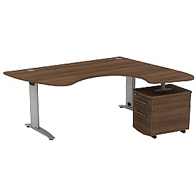 Protocol Ergonomic Combination Beam Desks £715 - Office Desks