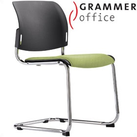 Grammer Office Passu Textile Mesh Upholstered Cantilever Side Chair £158 - Office Chairs