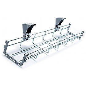NEXT DAY Universal Wire Cable Tray £17 - Office Desks