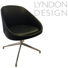 Lyndon Design Orlo 4 Star Base Chair £503 - Reception Furniture
