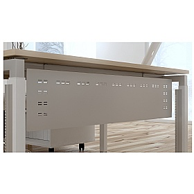 Elite Advance Steel Modesty Panels £96 - Office Desks