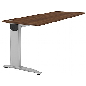 Protocol Shallow Rectangular Beam Desk Extension £193 - Office Desks