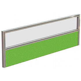 Protocol Acrylic & Fabric Rectangular Desktop Screens £0 - Office Screens