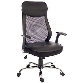 Harrow Mesh Back Executive Chair £113 - Office Chairs