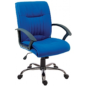Pescara Fabric Executive Chair £98 - Office Chairs