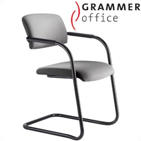 Grammer Office Match Fabric Cantilever Chair £157 - Office Chairs