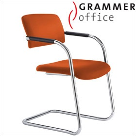 Grammer Office Match Microfibre Cantilever Chair £180 - Office Chairs