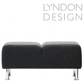 Lyndon Design Teal Two Seat Bench £556 - Reception Furniture