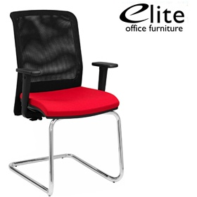 Elite Merge Mesh Back Cantilever Meeting Chair £264 - Office Chairs