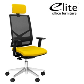 Elite Mix Mesh Back Task Chair £270 - Office Chairs