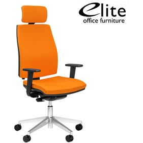 Elite Match Upholstered Task Chair £226 - Office Chairs