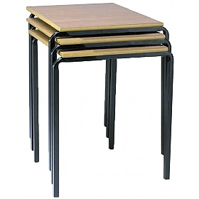 Express Delivery Crush Bent Square Tables £35 - Education Furniture