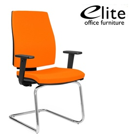 Elite Match Cantilever Meeting Chair £240 - Office Chairs