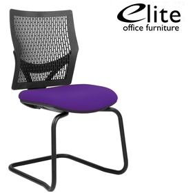 Elite Flex Cantilever Meeting Chair £240 - Office Chairs