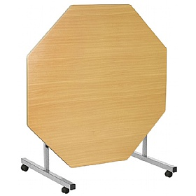 Octagonal Tilt Top Tables £179 - Education Furniture