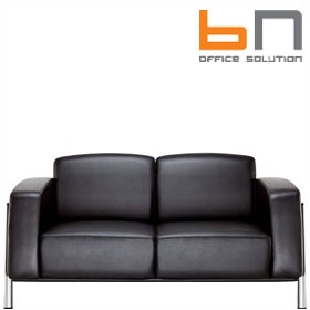 BN Classic Luxury Leather 2-Seater Sofa £1971 - Reception Furniture