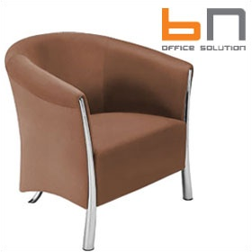 BN Cello Leather Armchair £990 - Reception Furniture