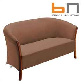 BN Cello Leather Sofa £1444 - Reception Furniture