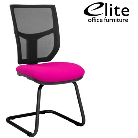 Elite Team Plus Mesh Back Meeting Chair £178 - Office Chairs