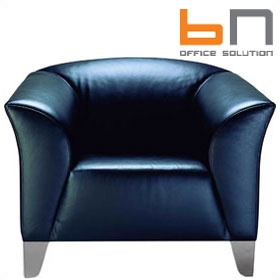 BN Status Luxury Leather Armchair £1462 - Reception Furniture