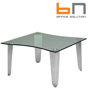 BN Status Shaped Square Glass Coffee Table £862 - Reception Furniture