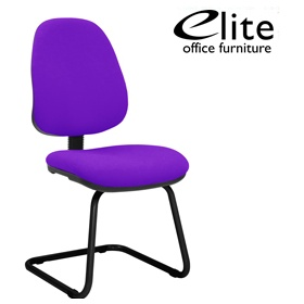 Elite Start Cantilever Meeting Chair £130 - Office Chairs