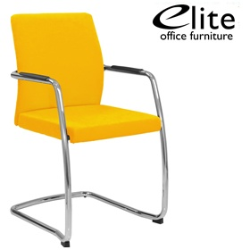 Elite Moda Upholstered Full Back Meeting Chair £253 - Office Chairs