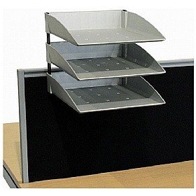 Elite Advance System Screen A4 Pending Trays £88 - Office Desks