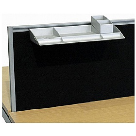 Elite Advance System Screen Stationery Compartments £41 - Office Desks
