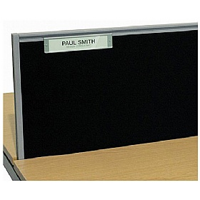 Elite Advance System Screen Name Plate £31 - Office Desks