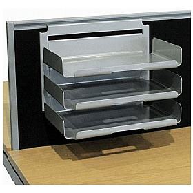 Elite Advance System Screen Hanging Paper Trays £146 - Office Desks