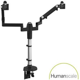 Humanscale M/Flex Dual Monitor Arms £0 - Office Furnishings