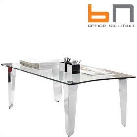 BN Status Rectangular Glass Coffee Table £872 - Reception Furniture