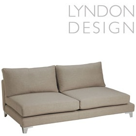 Lyndon Design Olivia Large Armless Sofa £1673 - Reception Furniture