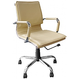 Folio Executive Chair Cream £109 - Office Chairs