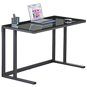 Shift Glass Computer Desk £132 - Computer Desks