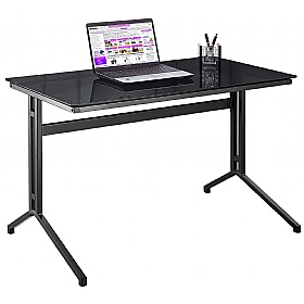 Omni Glass Computer Desk £132 - Computer Desks