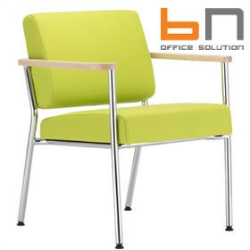 BN Zone Fabric Visitor Armchair £260 - Reception Furniture