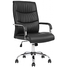 Senate Faux Leather Managers Chair £112 - Office Chairs