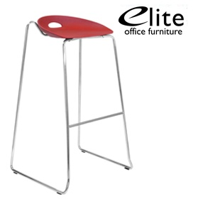 Elite Eclipse Bar Stool With Sled Base £162 - Bistro Furniture