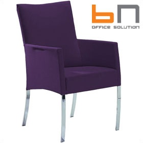 BN Tutti Leather Armchair £373 - Reception Furniture