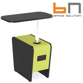 BN Magnes II Modular Seating - Writing Tablet £328 - Reception Furniture