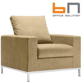 BN Concerto Fabric Reception Armchair £750 - Reception Furniture