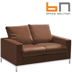 BN Concerto Leather Sofa £1135 - Reception Furniture