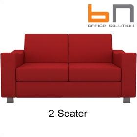 Bn quattro fabric sofa fabric reception sofas for Sofa quattro