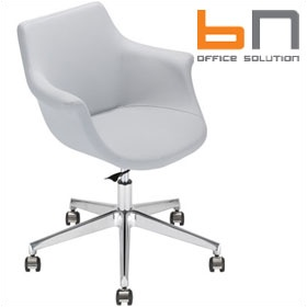 BN Kaika Faux Leather Task Chair £338 - Office Chairs