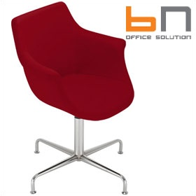 BN Kaika Fabric Swivel Conference Chair £454 - Office Chairs