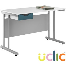 NEXT DAY Create Kaleidoscope Single Drawer Desks £108 - Next Day Office Furniture