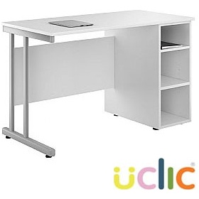 NEXT DAY Create Kaleidoscope Open Pedestal Desk £162 - Next Day Office Furniture