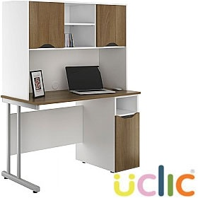 NEXT DAY Create Sylvan Pedestal Desks With Closed Storage £375 - Next Day Office Furniture